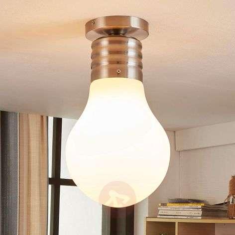 Hehkulamppumainen LED-kattolamppu Bado, easydim