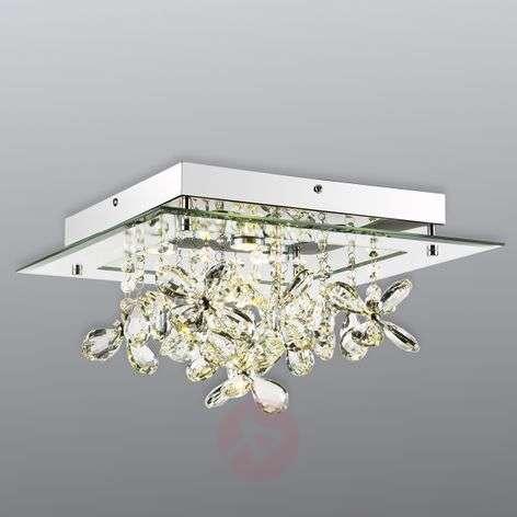 Heijastava LED-kattovalaisin Gese kristalleilla