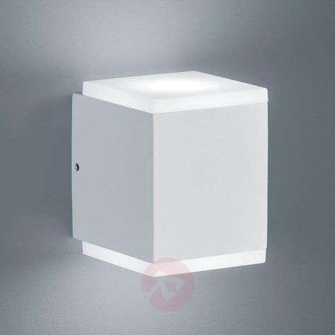 Helestra Kibo LED-ulkoseinälamppu, matta valkoinen