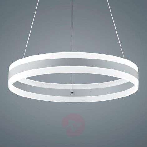Helestra Liv LED-riippuvalo, matta valkoinen 60 cm