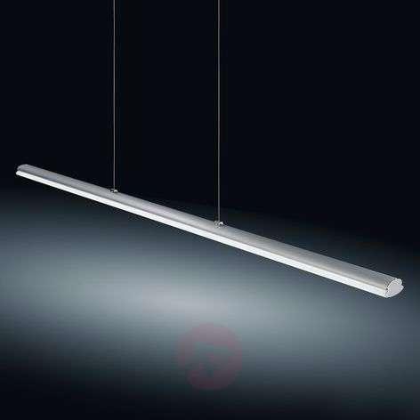 Helestra Venta LED-riippuvalo nikkeli 116,5cm