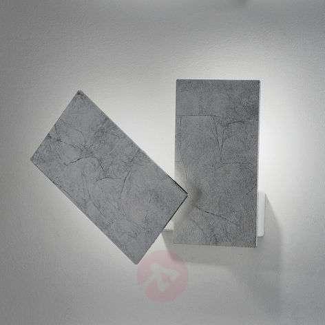 Hieno hopeanvärinen malli – LED-seinävalaisin Time