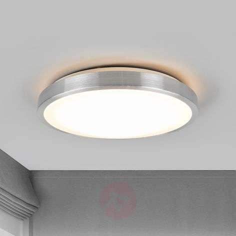 Hillitty Jasmin-LED-kattovalaisin, pyöreä kupu-9974019-31
