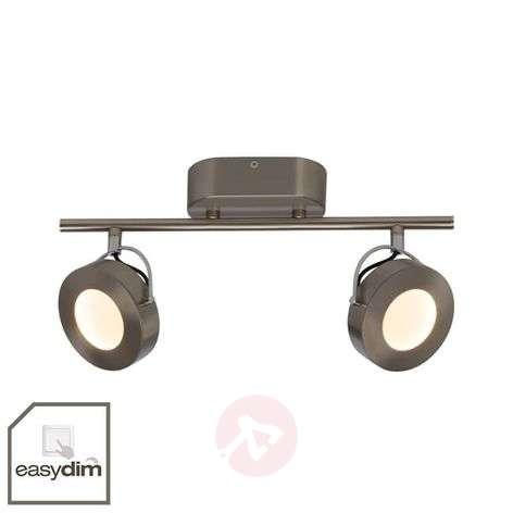 Himmennettävä LED-kattospotti Allora, 2-lamppuinen