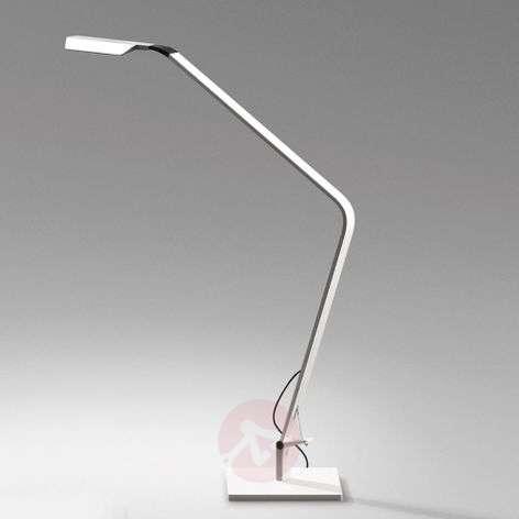 Himmennettävä LED-pöytävalo Flex, matta valkoinen