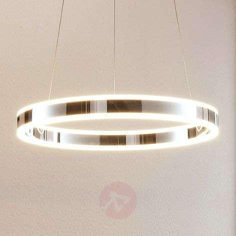 Himmennettävä LED-riippuvalaisin Lyani kromi 50 cm