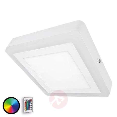 Himmennettävä LED-seinävalaisin Color+White Square