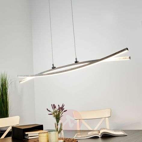 Hopeanvärinen, hento Florentina-LED-riippuvalaisin-9994117-32