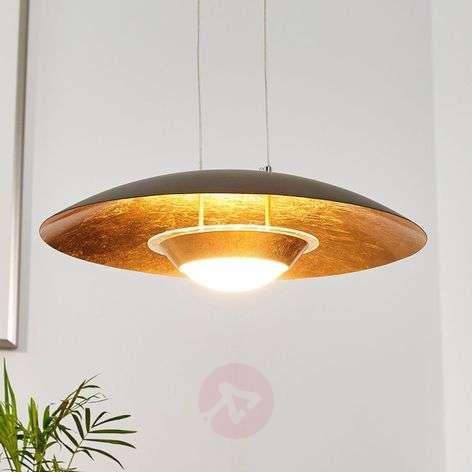 Houkutteleva LED-riippuvalo Yasien, musta-kulta