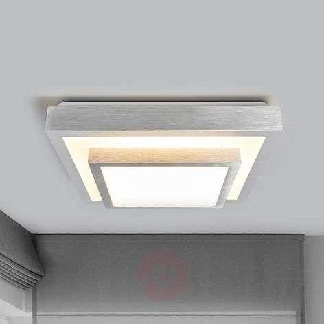 Huberta – LED-kattolampussa alumiininvärinen kehys-9974015-31