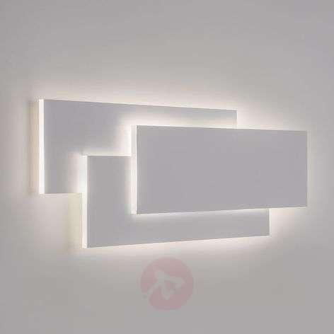 Huippumoderni LED-seinävalaisin Edge valkoisena