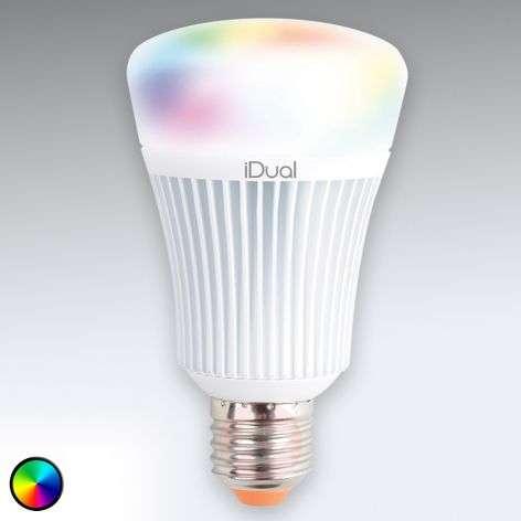 iDual E27 LED-lamppu ilman kaukosäädintä, 11W