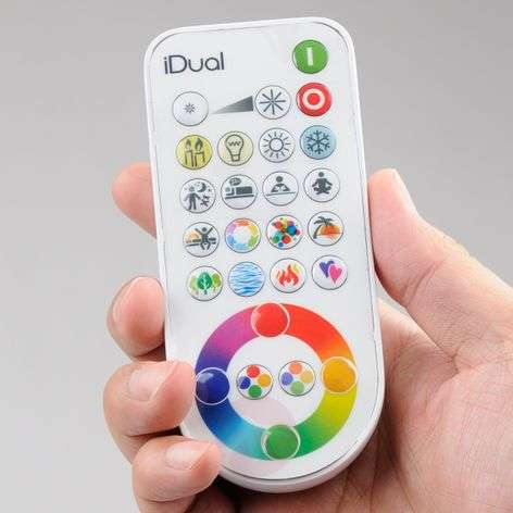 iDual-infrapunakaukosäädin
