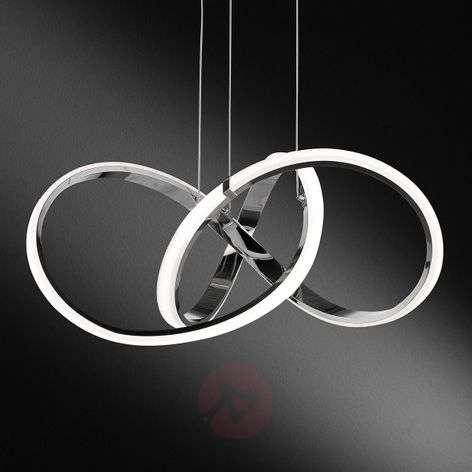 Indigo - kromi LED-riippuvalaisin, himmennettävä