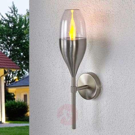 Jari - koristeellinen LED-solarseinälamppu