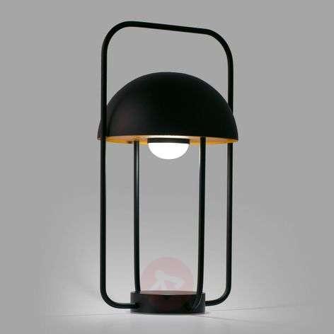 Jellyfish-LED-pöytälamppu, kannettava, akku