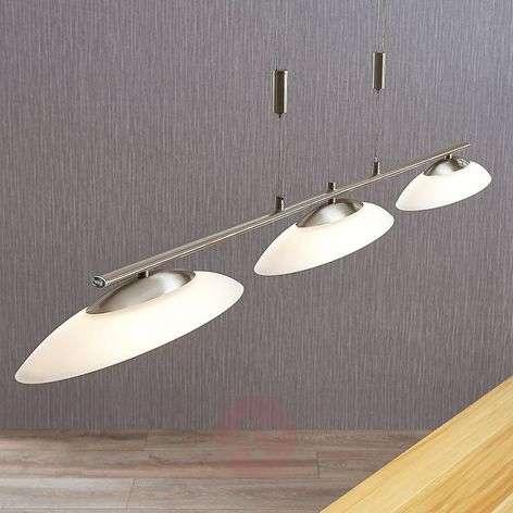 Judie - 3-lamppu-LED-riippuvalaisin, himmennin