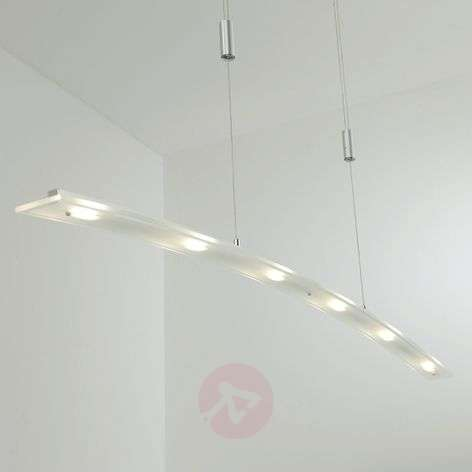 Juna-LED-valaisin lasia, himmennettävät LEDit