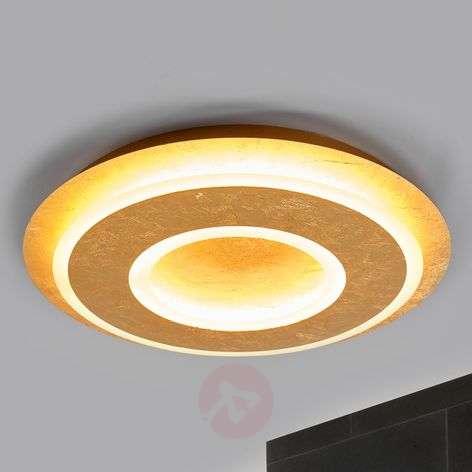 Juran pyöreä, kullanvärinen LED-kattolamppu-9994134-32