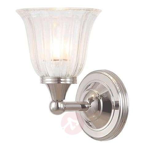Jykevä Austen -kylpyhuonelamppu, nikkeli