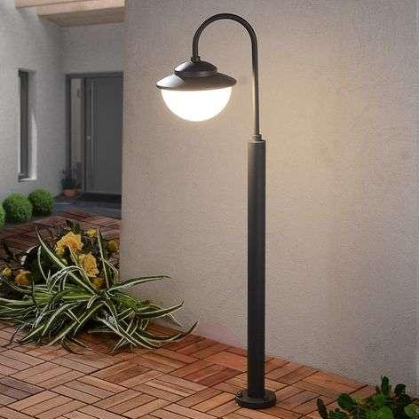 Kaareva LED-pylväsvalaisin Pinara
