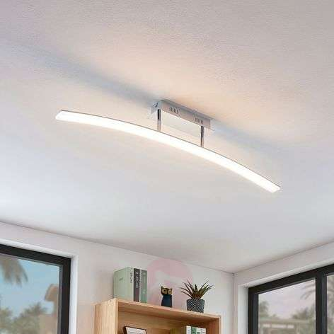 Kaareva Lorian-LED-kattolamppu