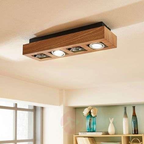 Kääntöosilla varustettu – LED-kattolamppu Vince