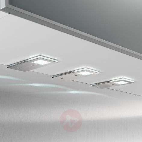 Kätevä Flat I-LED-kaapinalusvalo, 3 kpl setti