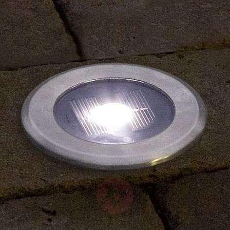 Kätevä upotettava maavalo SOLAR LIGHT LED