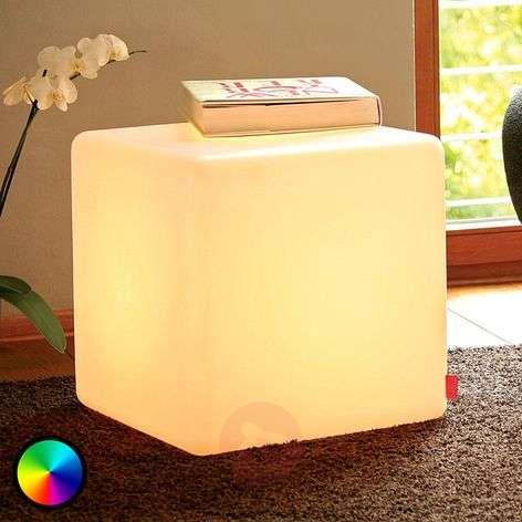 Käytännöllinen koristevalaisin Cube Indoor LED-6537021-31