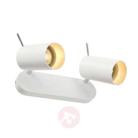 Kaksilamppuinen Asto Tube – Kattospotti valkoinen