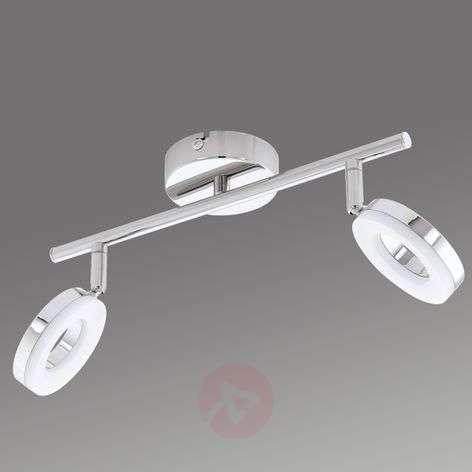 Kaksilamppuinen Gonaro LED-kattovalaisin, IP44