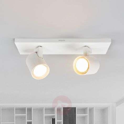 Kaksilamppuinen LED-kattovalaisin Runner