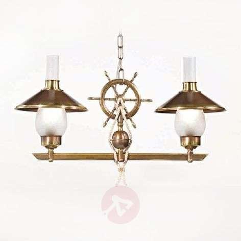 Kaksilamppuinen riippuvalaisin Grecale, ruori-2008129-31