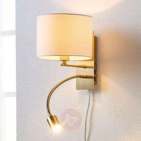 Kangasseinävalaisin Florens LED-lukuvarrella