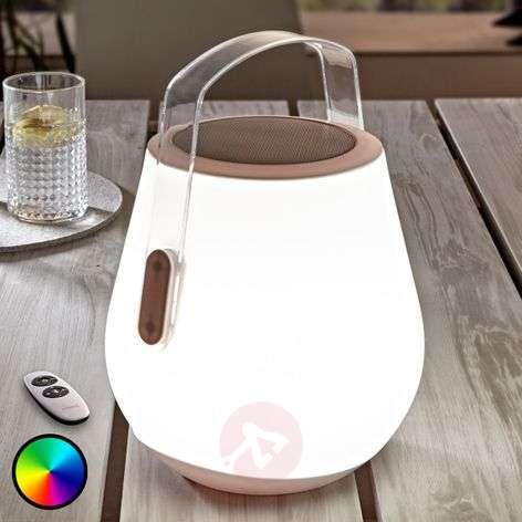 Kannettava kaiutin Sabia, RGB-LED:t