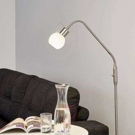 Kapea Elaina LED-lattiavalaisin, matta nikkeli