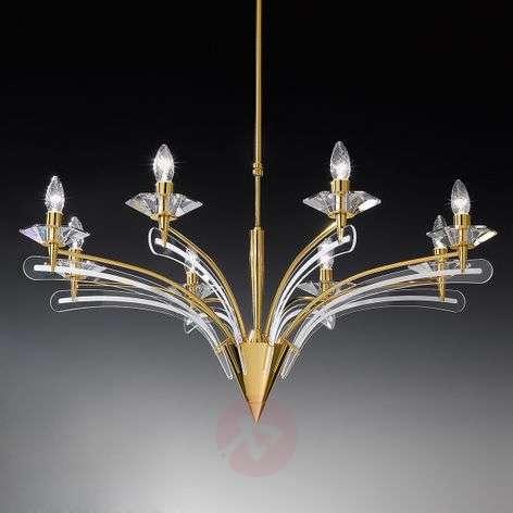 Kattokruunu ICARO, kristallilasia, 100cm