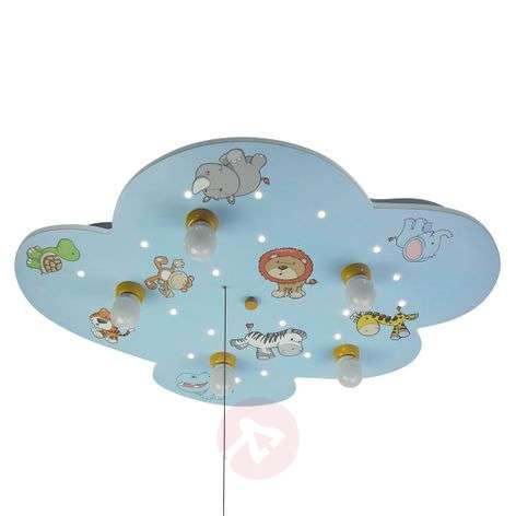 Kattovalaisin Pilvi villieläimillä