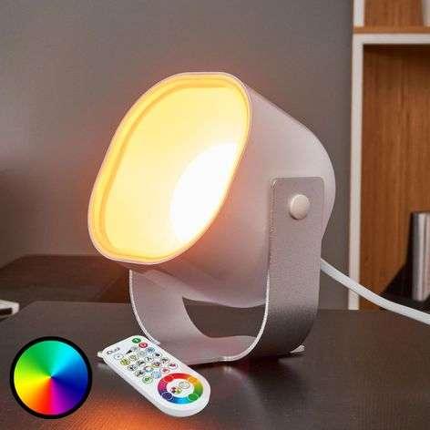 Kaukosäätimellä ohjattava LED-spotti Lilac
