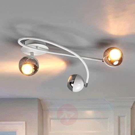 Kaunis Arvin LED-kattovalaisin, valkoinen