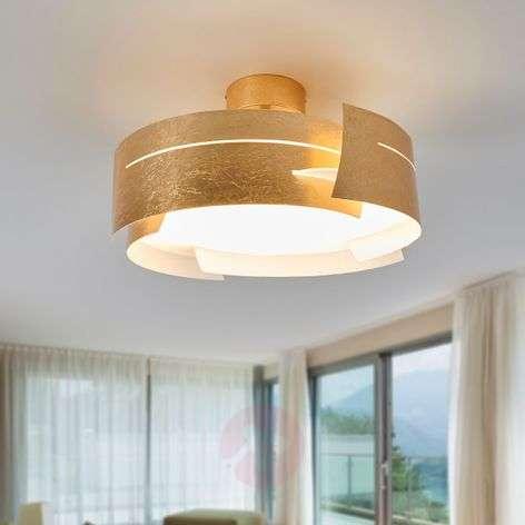 Kaunis Keyron LED-kattovalaisin, matta kulta