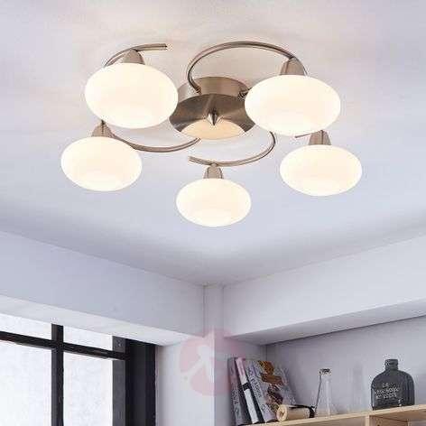 Kaunis LED-kattovalaisin Espen, matta nikkeli