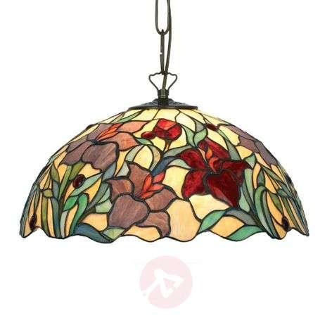 Kaunis Tiffany-tyylinen Athina-riippuvalaisin-1032136X-31