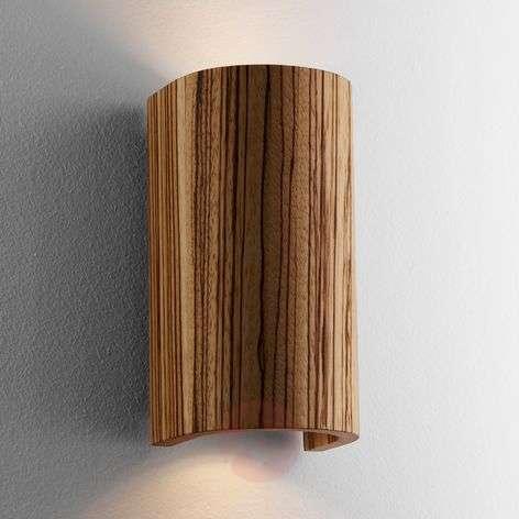 Kaunis Tube-seinävalaisin, zebrano, 17,5 cm