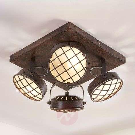 Keittiön LED-kattovalaisin Tamin, ruosteenruskea