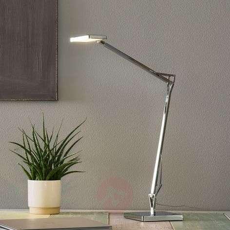 Kelvin Edge -LED-pöytälamppu, kromi
