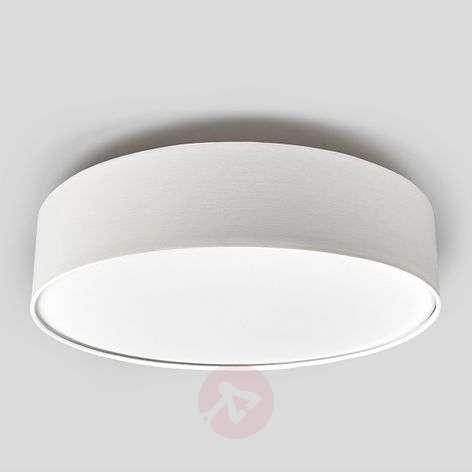Kermanvärinen LED-kattovalaisin Sebatin, kangasta