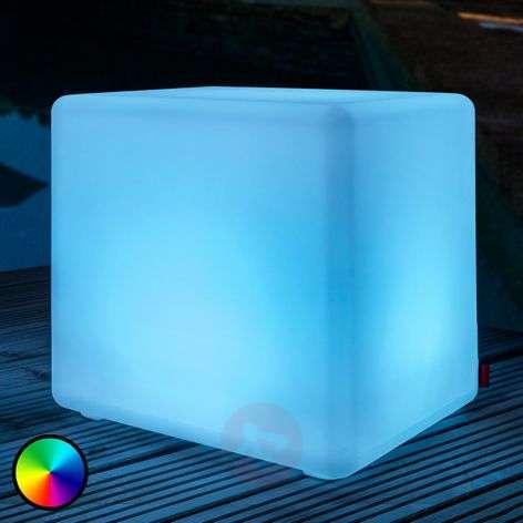 Kiehtova ulkokoristevalaisin Cube LED Accu Outdoor-6537082-32