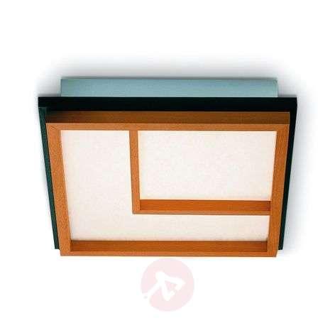 Kioto 2 pyökkipuinen LED-kattolamppu-2600514-31